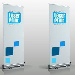 Banner con portabanner